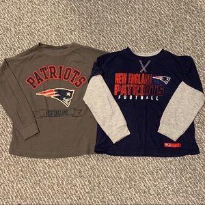 👻2/$20 New England Patriots Long Sleeve Bundle
